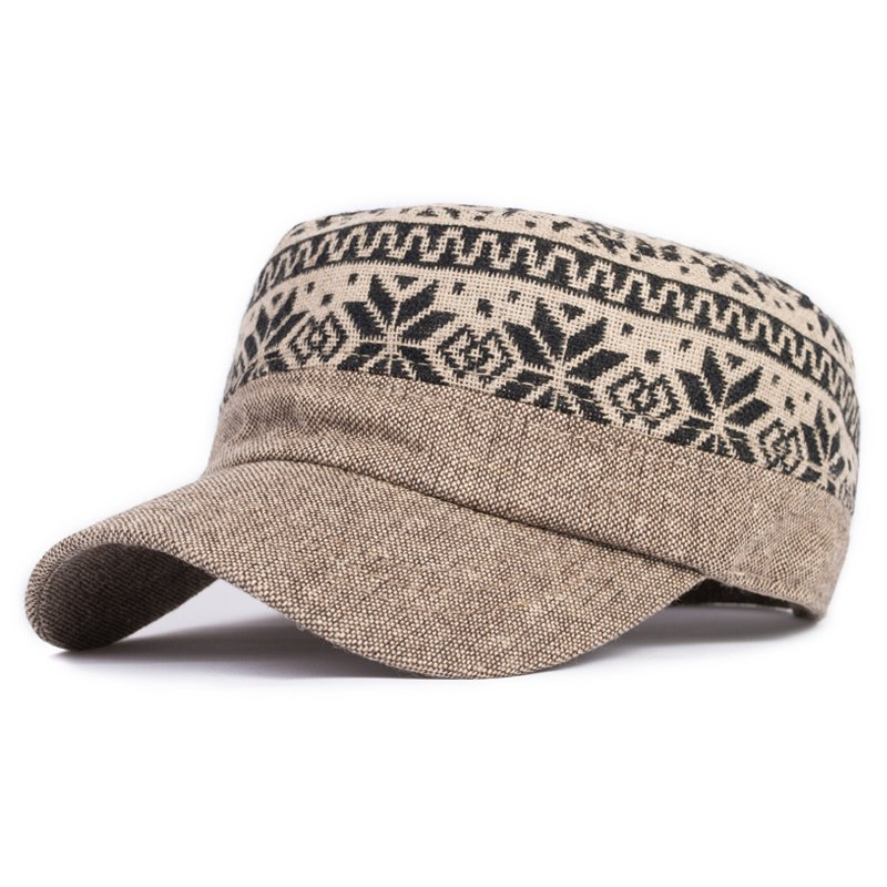 aeb337711ce Get Quotations · Cadet cap male women s the trend of the spring and autumn  winter wool hat fashion pattern