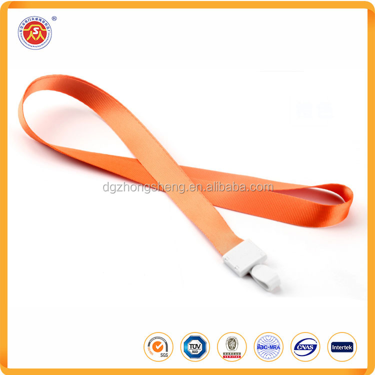 Promotional personalized silkscreen printing lanyard for USB flash holder