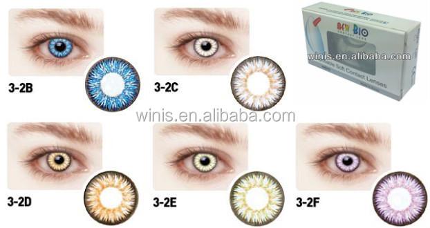 975d08bcc4f53a Goedkope contactlenzen nieuwe bio 3-2 lens contact 14.5mm kleur  contactlenzen korea maandelijkse