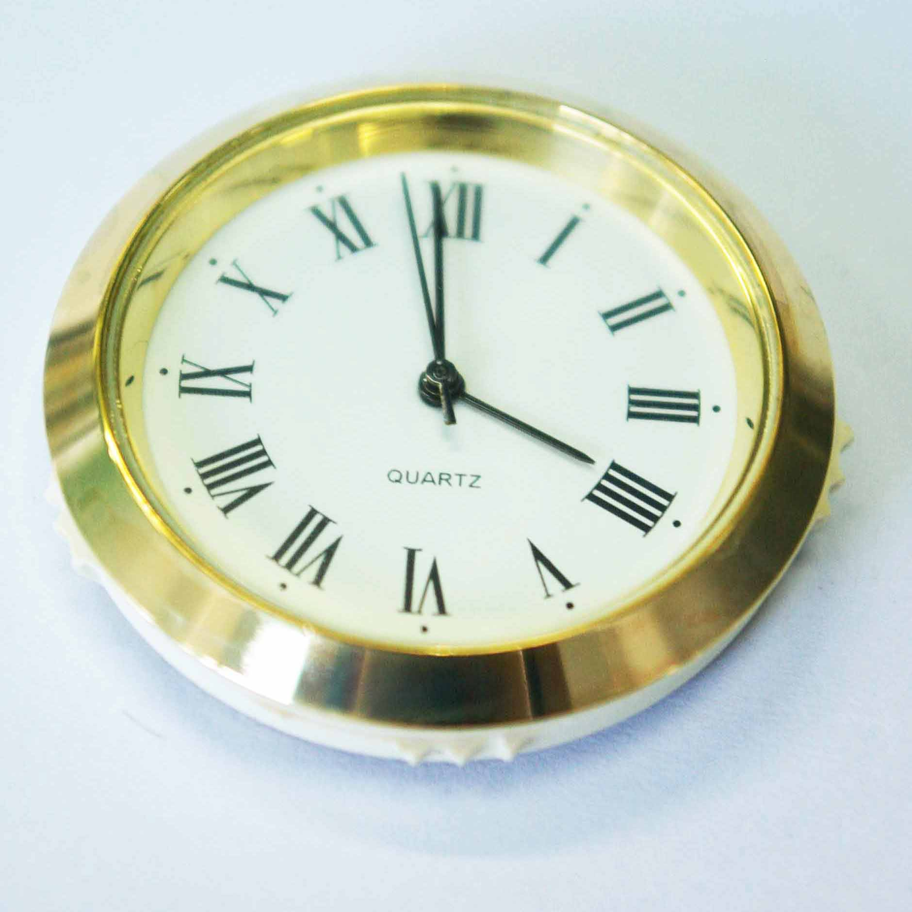Clock Insert For Professional Craftsmen Crystal Craft Wood Workers