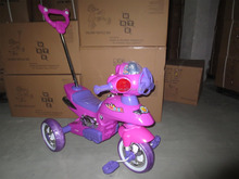 High quality cheap baby tricycle with CE certificate Hot sale and lovely children tricycle Cheap and motorcycle head baby