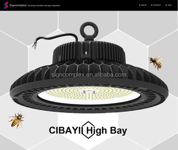 130LM/W High lumen good design 200w led high bay light with 5 years warranty for Warehouse, Airport, Gas station
