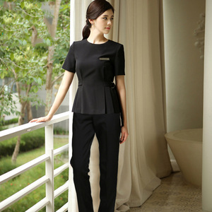 Custom Professional Women Beauty Salon Uniform