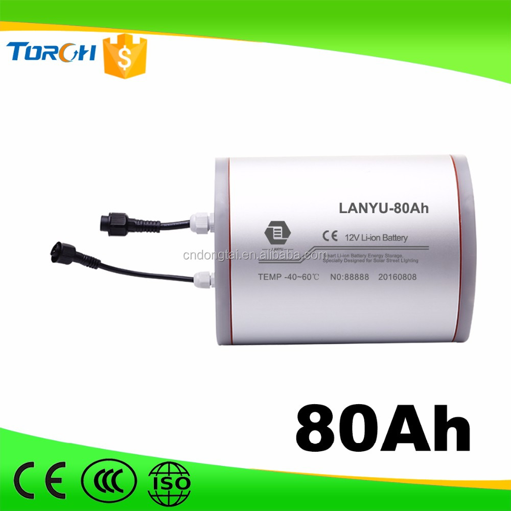 Hot selling rechargeble baterry 80Ah lithium ion12v battery