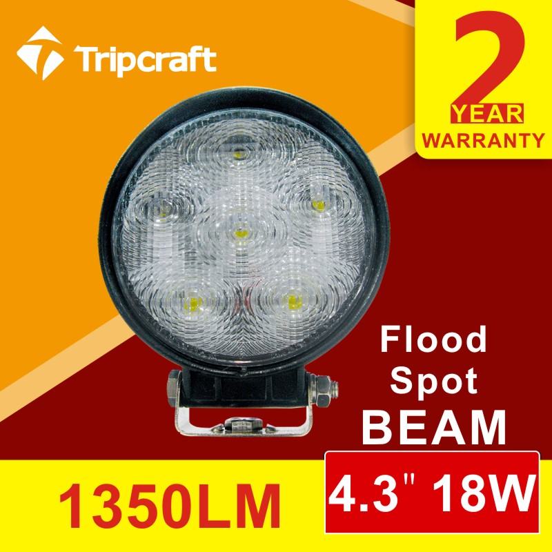 18w Led Work Light Off Road Led Lighting Projector Led Spot Light Auto Accessories