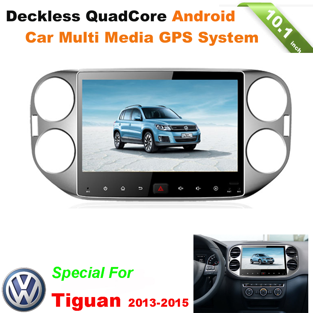 10.1inch Quad Core Android car radio gps pc system for VOLKSWAGEN VW TIGUAN car dvd navigation with wifi 3g mirror link