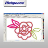Richpeace Embroidery Design Pro 2000 CAD V5.0