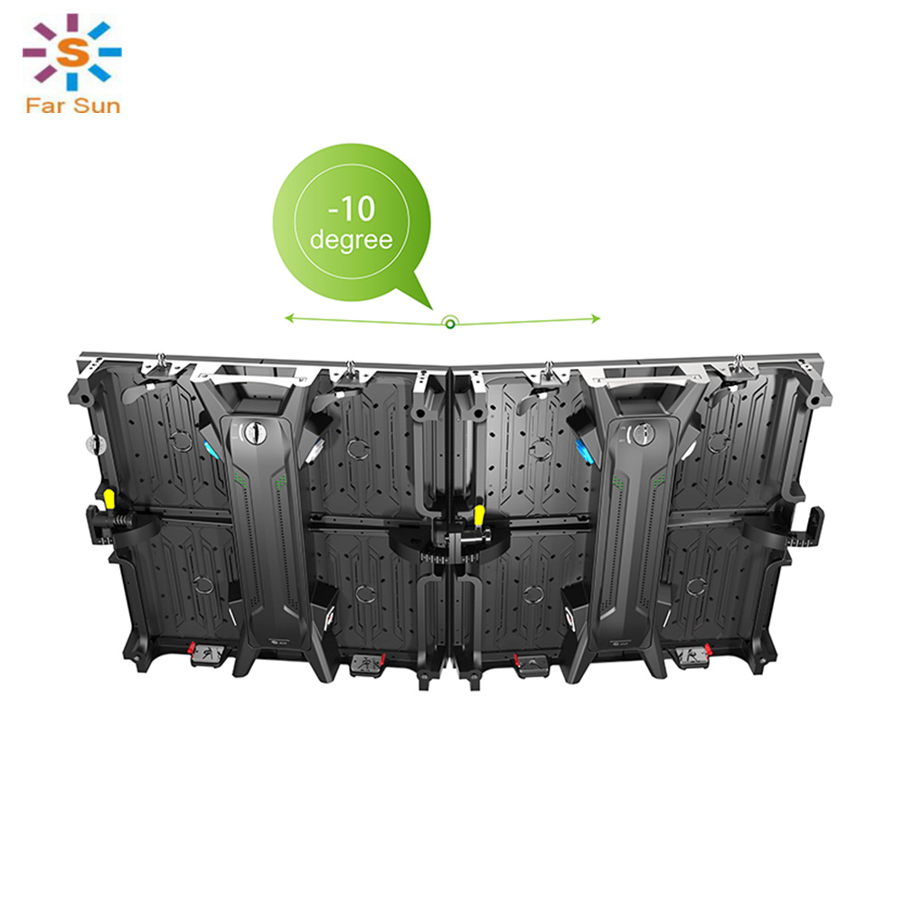 Electronic Components & Supplies Coreman Led Stage Screen Rental Signage Aluminum Cabinet 500*500*65mm 1r1g1b Indoor Led Panel Module P3.91 P4.81 P6.25 Optoelectronic Displays