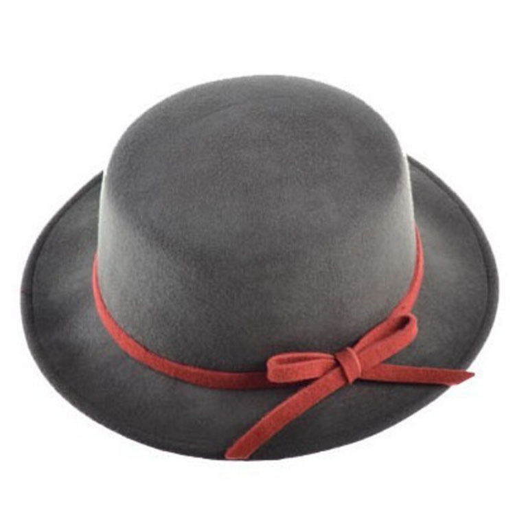 8c053e6c Buy Retail Women Fedora hats Dome cap Ladies dress hats Womens caps felt  hats wool felting Bowler hat in Cheap Price on Alibaba.com