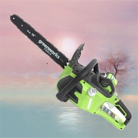 Digging machines high quality gardening tool electric chain saw 80v 18inch