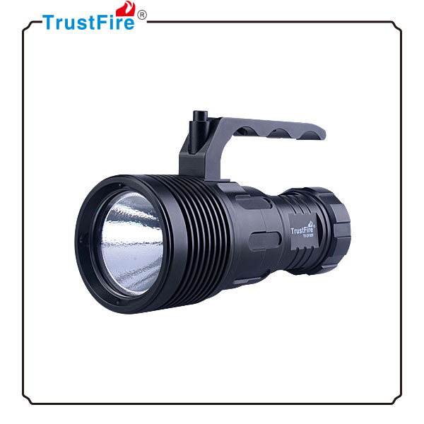 Handle Diving torch Trustfire DF009 high power water proof flashlight