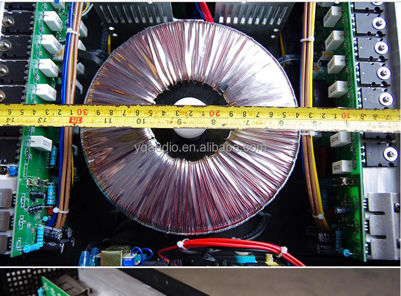 CA Series Manufacturer Entertainment Professional Power Amplifier/high  power amplifier sound standard, View Power Amplifier, QSN Product Details  from
