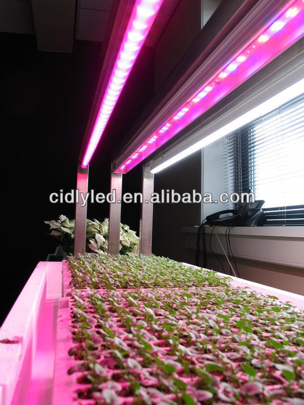 2015 Vertical Garden Hydroponic 3w Led Strip Light 60 90 120cm Waterproof  Led Grow Light Bar