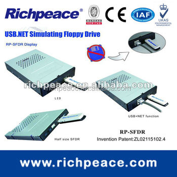 Floppy drive to USB flash drive for LeCroy Digital Oscilloscope machine