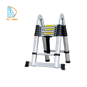 4.4m telescopic extendable ladder 14 steps