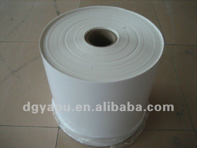 3M Thermal Transfer Label Stock Materials 7882 .002 White Polyester Gloss TC, 27 in x 1668 ft,