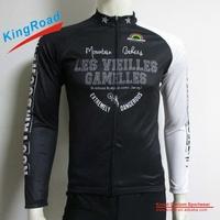Cheap China cycling jersey long sleeve/gym wear for Men/custom jersey
