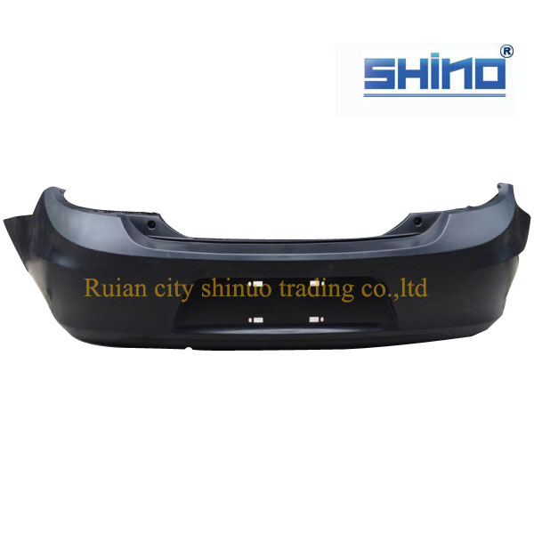 Auto spare parts for Chery E5 Rear bumper .J52-2804500BA with ISO9001 certification ,standard package anti-cracking