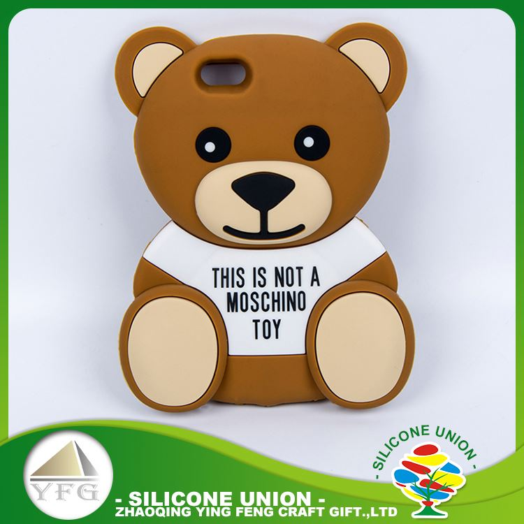 Latest toy bear silicone mobile phone case
