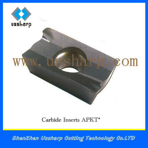 Milling Machine Tool Inserts From China Apkt/ Carbide Insert Size ...