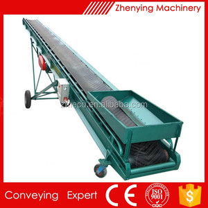 large capacity wood chip belt conveyor systems