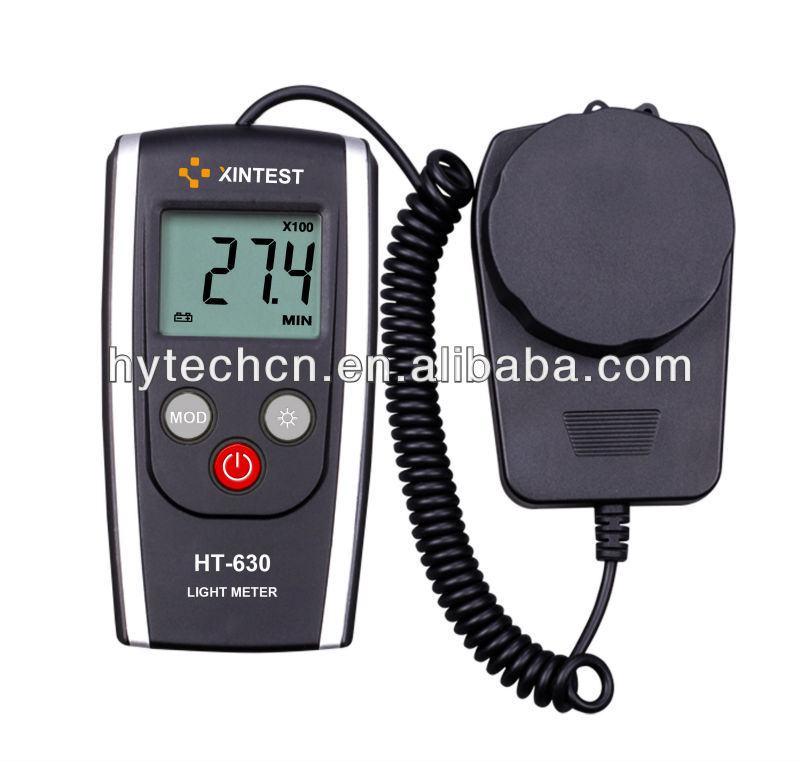 Hot Selling Digital Light Meter Infrared Thermometer System(HT-630)