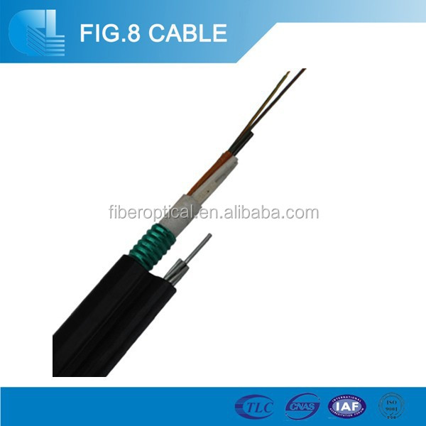 outdoor self-supporting single mode 4 core G652d fibre opitc cable GYTC8A applied Vietnam