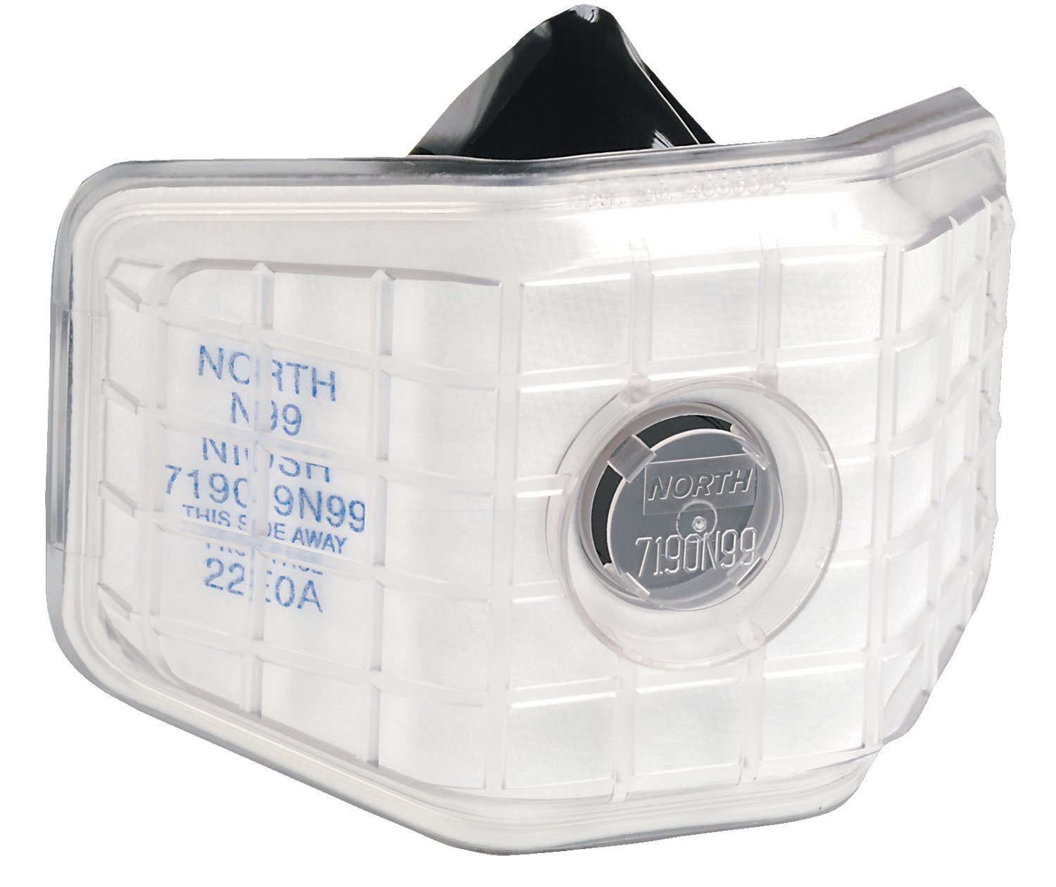 North by Honeywell 7190N99 Particulate Reusable Welding Respirators, Half Facepiece, One Size, White (Pack of 12)