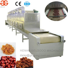 Belt type Beef jerky/Spice/Dates Microwave Drying Sterilization Machine