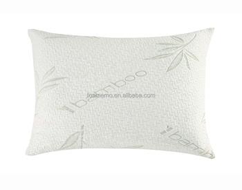 Bamboe Kussen Ervaringen : Ergonomisch kussen bamboe stof versnipperd memory foam kussen