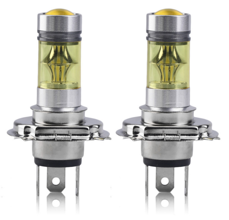 wholesale yellow fog lights led H4 gold color 100W 20smd sharp high power fog lamps