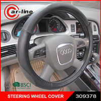 15 inch Pu Car Steering Wheel Cover From China Fatory