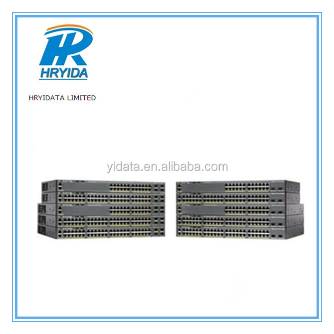 48 port poe cisco 2960x series switch WS-C2960X-48LPD-L switches