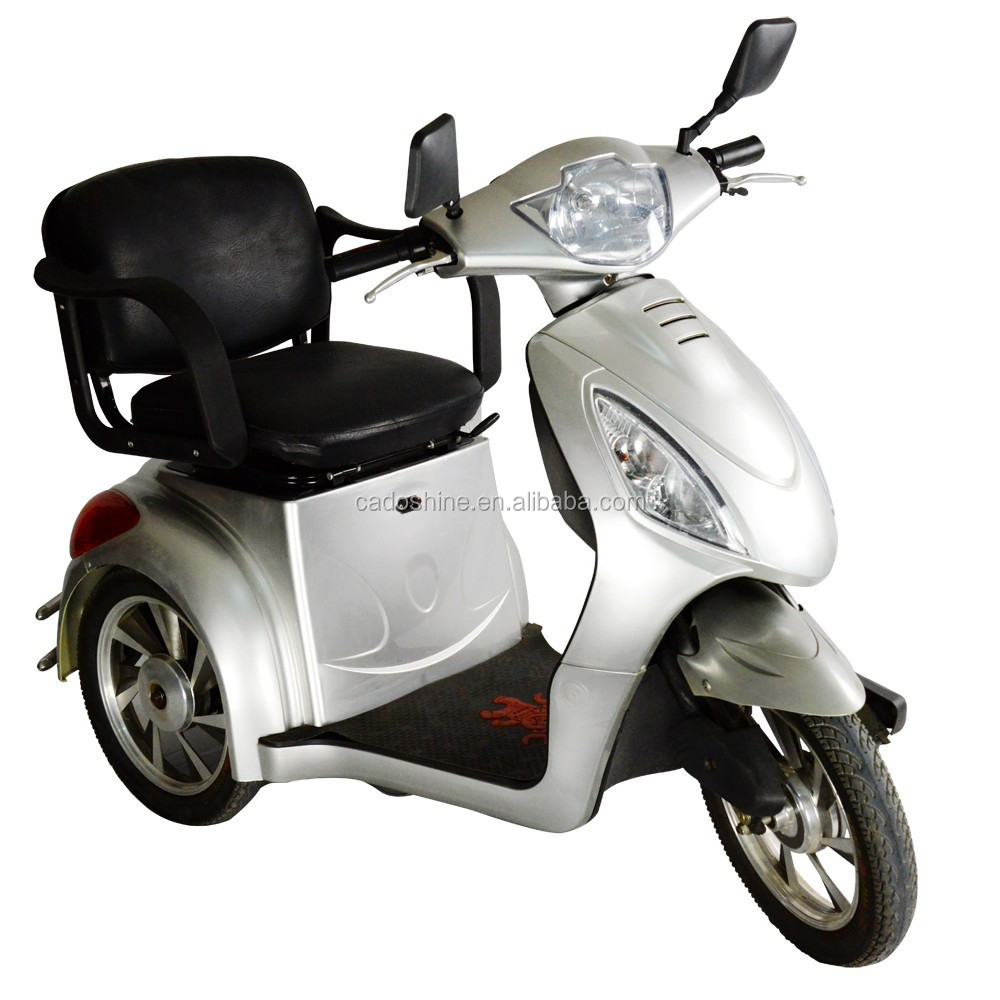 Can Adult electric three wheel scooters