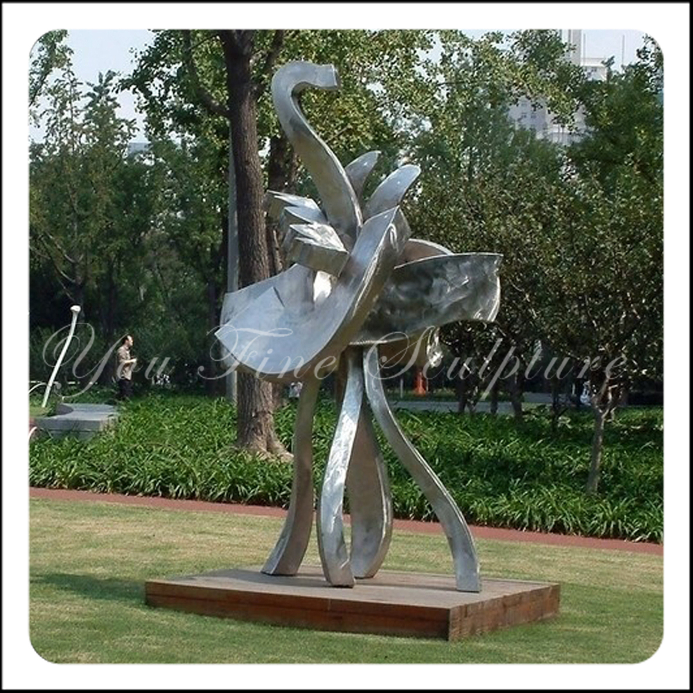 Modern Abstract Happy Garden 304 Stainless Steel Metal ...