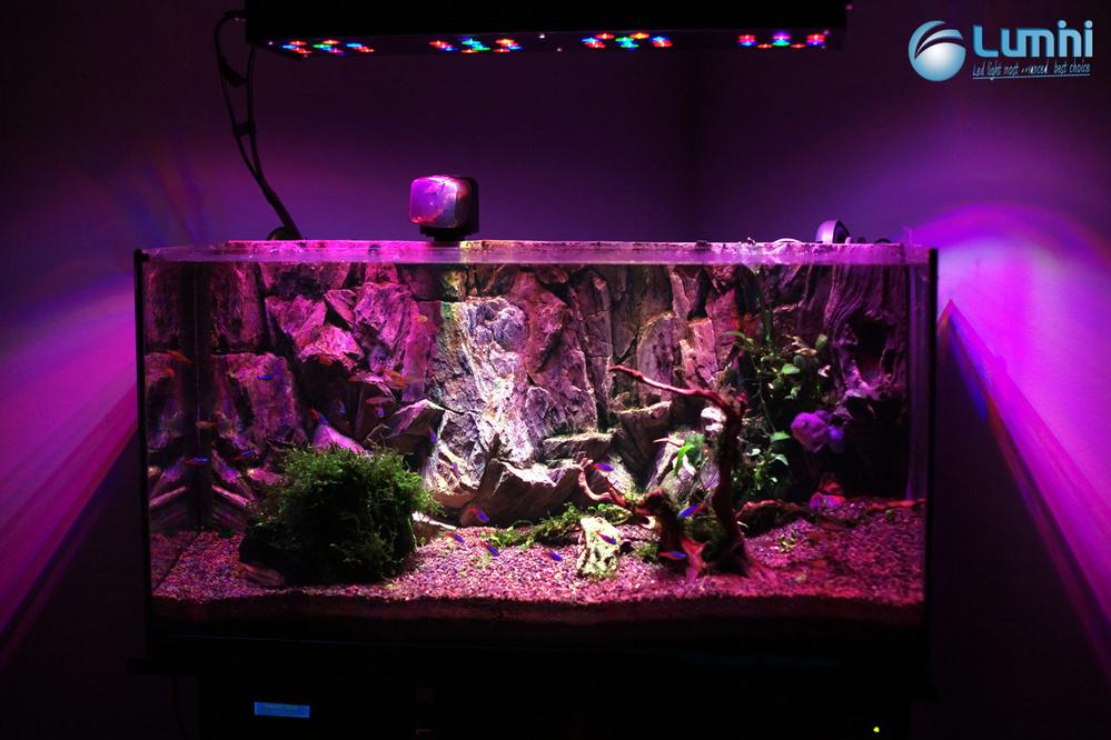 Lumini Gemis 150r3 150w Full Spectrum Customizable Diy Led