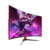 Newest frameless LED monitor Free sync 32 inch 144hz curved gaming led monitor 2560*1440