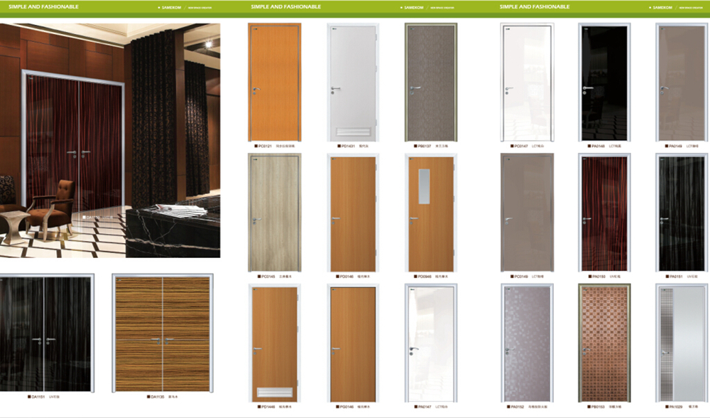 Latest Design Wooden Doors,Apartment Entry Door,Plywood Door Panel ...