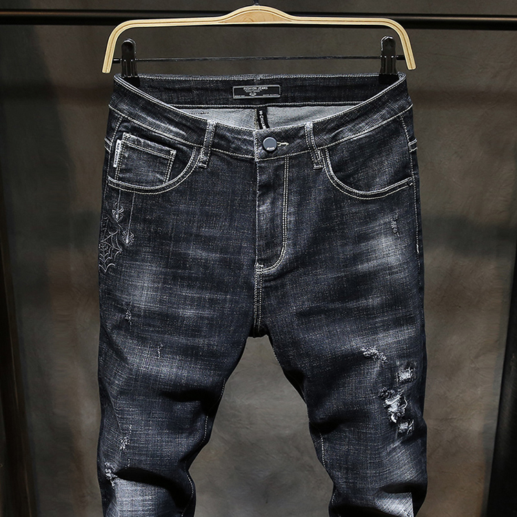 Men Latest Trousers Design Baggy Jeans Pants