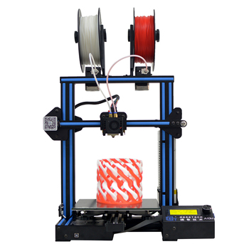 Geeetech A10M Mix color Double Color 3D Printer Dual Extruder Mixed Color Glass Plate 3D Printer machines