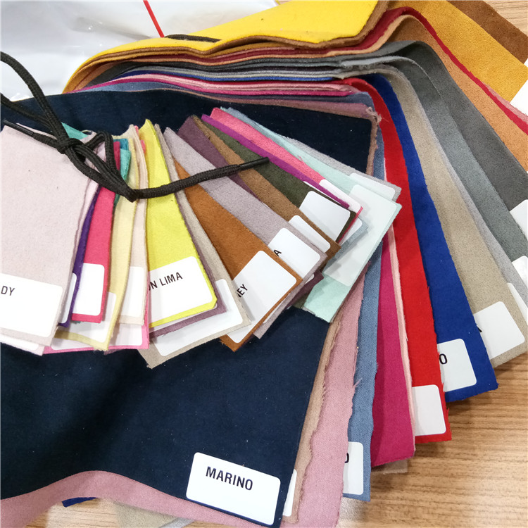 300GSM Suede Woven fabric textile dyeing 100% polyester for South America