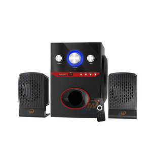 High quality 2.1 Laptop Computer Sub Woofer Loud Bass Speaker with USB SD FM Bluetooth
