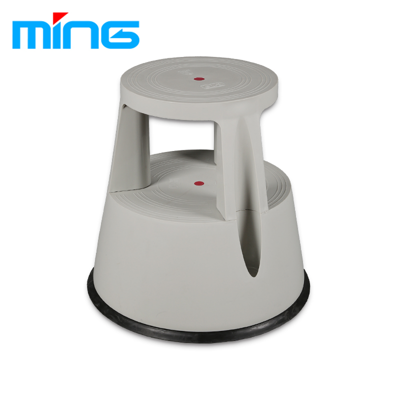 p rolling depot stool gray the vestil in stools step gy home