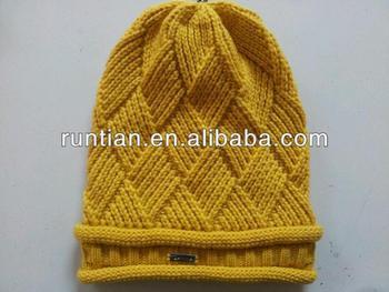 Ladies Beanie Hat Knitting Pattern Free Slouchy Beanie Knitting Pattern 3418bfc38c1
