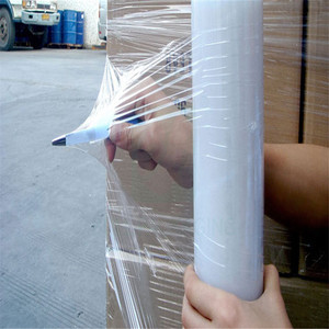 Qingdao JTD Manufacturer Wholesale Clear Plastic Pallet Stretch protection wrap
