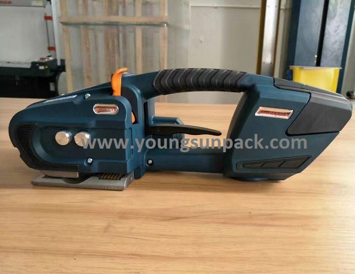 BATTERY POWERED FRICTION WELD STRAPPING TOOL JDC13/16