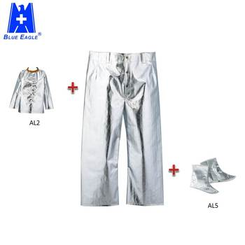 Blue Eagle Safety AL3 en11612 work heat protective aluminized trousers