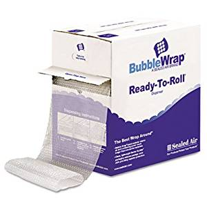 "Bubble Wrap&Reg Cushion Bubble Roll 1/2"" Thick 12"" - Product Description - Bubble Wrap(R) Is A Registered Trademark Of Sealed Air Corporation (Us)Bubble Wrap(R), Cushion Bubble Roll, 1/2"" Thick, 12"" X 65 Ft. ..."