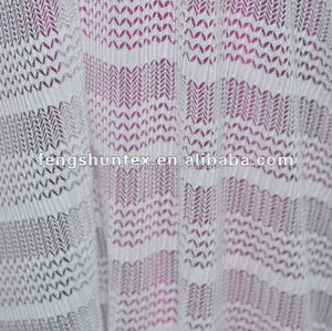 fancy mesh fabric for clothing crepe mesh