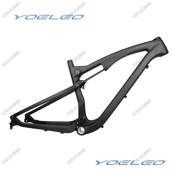 "EN Standard 16"" / 18"" / 20"" YOELEO 650B Carbon 27 5 Full Suspension Frame"